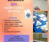 TALLERES DE REFUERZO ENERO - FEBRERO 2020