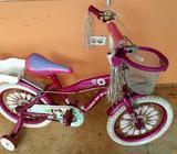 Bicicleta Rin 16 de Paseo para Niña Rosa