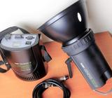 Flash 600 W Portátil Canon Sony Nikon