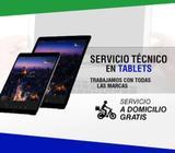 Servicio técnico especializado en reparaciones de tablets de todas las marcas