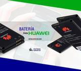 Servicio técnico especializado en reparaciones de batería de celulares y tablets Huawei