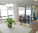 Se Alquila Apartamento Amoblado Amplio Con Vista Al Mar En La Avenida Balboa