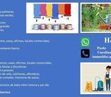 Empresa de servicios de Jardineria, limpieza, pintores, albanileria y baby-sitter