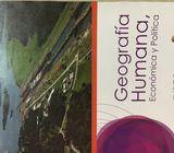 Libro de 11,12 geografía humana, económica y política Santillana