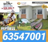 Venta casa  39,999 en chorrera bono mivi