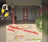 Alquilo apartamentos en Las Tablas Para carnavales