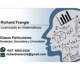 Clases Tutorías de Matemática de Secundaria Universidad. Trabajos Tarea Ejercicios