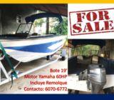 Bote BLUEFISH MOTOR YAMAHA 60HP-LANCHA