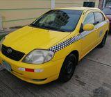 Vendo Toyota corolla amarillo SIN CUPO