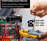 Portones Eléctricos - Instalación   Mantenimiento   Reparación