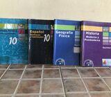 Libros usados de 10 (décimo)