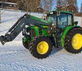 Tractor John Deere 6430 del año 2010