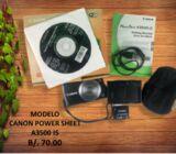 CAMARA CANON POWER SHEET