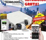 Kit de cámaras con Instalación GRATIS