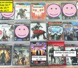 A la venta de juegos para PS3, PS4. Juegos nuevos y usados